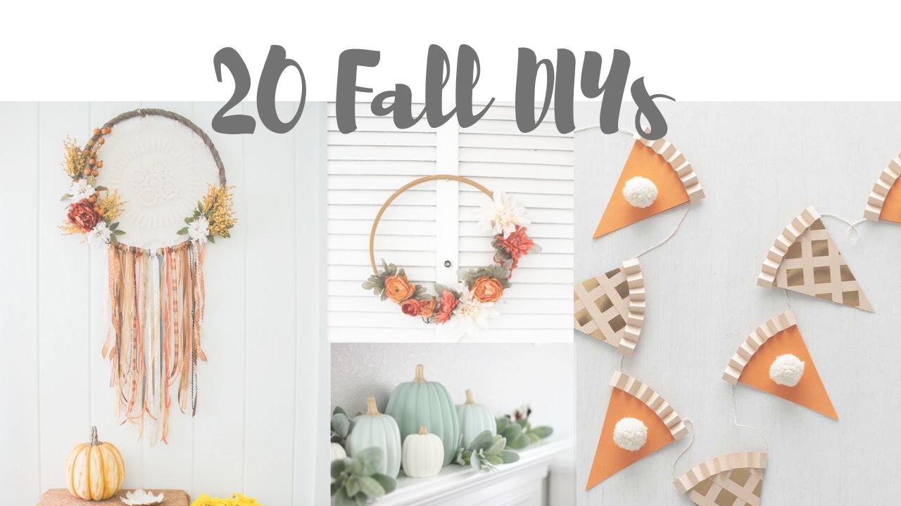 20 Fall DIYs