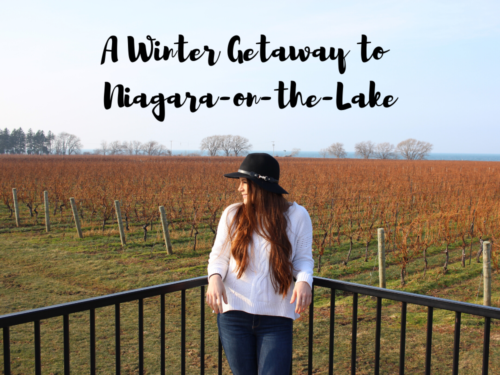 A Winter Getaway to Niagara-on-the-Lake