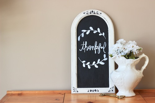 Thrift Store Mirror Upcycle