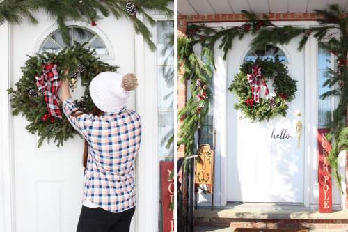 Decorating My Front Porch for Christmas